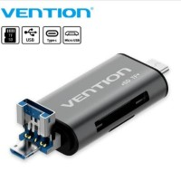 Vention [CCH] AllIn1 USB 3.0 CardReader Micro SD TF Type-C OTG Premium