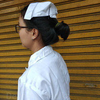 NURSE CAP / TOPI PERAWAT / CAPING SUSTER