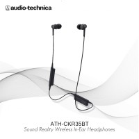 Special Price Audio Technica ATH-CKR35BT Sound Reality Wireless- Hitam