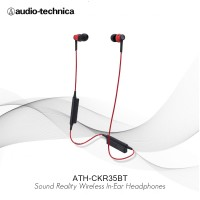 Audio Technica ATH-CKR35BT Sound Reality Wireless In-Ear Headphones