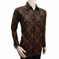 Jual Baju batik murah asli pekalongan motif wayang pundak Murah