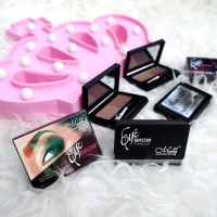 STYLING - New Eyebrow Powder Kit Menow Duo / 2 Warna MN / M.N / Me Now