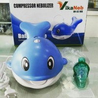 Jual VIKANEB - Nebulizer Anak Karakter Baby Whale Berkualitas Murah