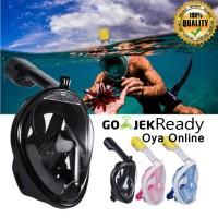 Full Face Snorkel Mask Snorkeling snorkle Masker selam Mouting Gopro