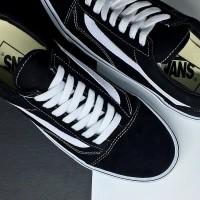 SPESIAL PROMO Sepatu Vans Old Skool Classic Black and White DT BNIB