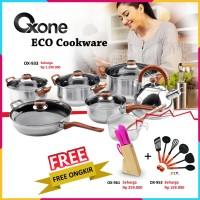 Harga promo paket panci set free knife set kitchen tools free   Hargalu.com