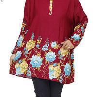 Baju Atasan Jumbo Wanita Big Size XXXXXL 5L