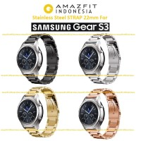 Samsung Gear S3 Stainless Strap Gelang Band Premium Quality 22mm
