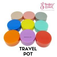 Pot Cream/Single Pot/Travelling Pot/Tempat Krim Mini/
