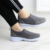 Sepatu Slavina DeVanna Swarovski Sneaker Series T501 Original Quality