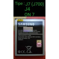 Baterai Samsung Galaxy J7 2015 J700 ON7 ORIGINAL Battery Batre Bat