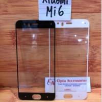 Tempered Glass Warna Full Layar Xiaomi Mi 6