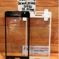 Tempered Glass Warna Full Layar Samsung Grand Prime/G530/J2 Prime