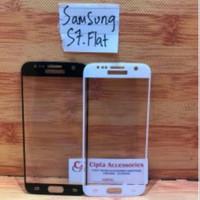 Tempered Glass Warna Full Layar Samsung S7 Flat