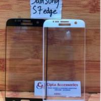 Tempered Glass Warna Full Layar Samsung S7 Edge