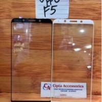 Tempered Glass Warna Full Layar Oppo F5