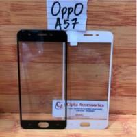 Tempered Glass Warna Full Layar Oppo A57