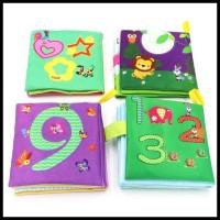 Baby Soft Book Buku Bantal Kain Mainan Bayi - Binatang