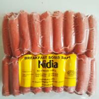 Sosis Sapi Breakfast Nidia 1Kg