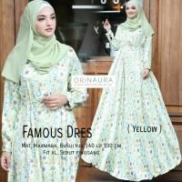 Jual gamis dress abaya cantik maxmara famous ori naura Murah