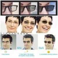 lensa kacamata minus plus silindris photochromic