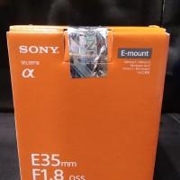 Lensa Sony E35mm F/1.8 oss