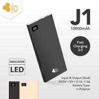 Powerbank Hippo ILO J1 LED 10000mAh (power bank pb) garansi 1 tahun