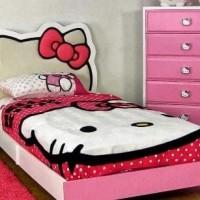 tempat tidur anak karakter kartun ft.