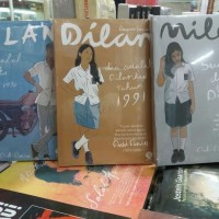Novel PAKET 3 BUKU PIDI BAIQ ( DILAN 1, 2 & MILEA )