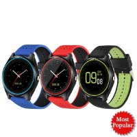 Smartwatch V9 Bluetooth Touchscreen With Camera & Support Sim Card