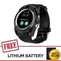 Cognos Smart watch V8 FREE BATTERY SmartWatch Jam Tangan TERMASUK BOX