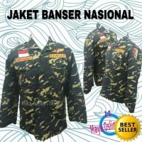 Jaket bolak-balik banser Loreng Nasional