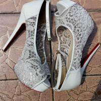 Jual High heels platform /sepatu wanita/ sandal wanita second Murah