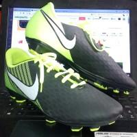 Sepatu Bola Nike Magista Hitam Stabilo KW