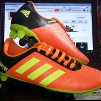 Sepatu Bola Adidas Predator Orange Hitam Stabilo KW