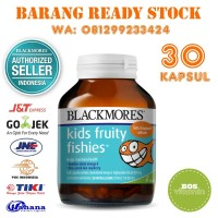 Blackmores Kids Fruity Fishies BPOM Kalbe - 30 kapsul (omega 3 anak)