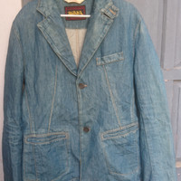 Jeans Jacket Von Dutch Kustom Made Originals Size XL