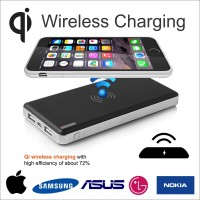 Power Bank Wireless Powerbank Qi OMEGA 10000 mAh