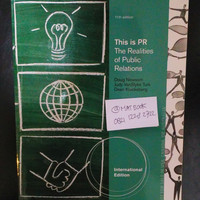 This is PR The Relalities of Public Relations 11ed