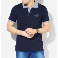 Polo Shirt Pria Levis Navy / Kaos Polo Kerah Wangki Shirt