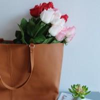 Bunga Plastik Mawar Premium