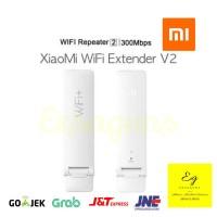 Original Xiaomi Wifi Range Extender Ver. 2 / Repeater / Penguat Sinyal