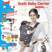 Gendongan Bayi Ransel | Baby Carrier Baby Scots