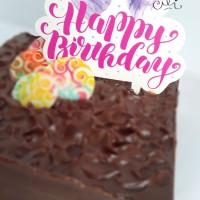 (CTB-BDAY006) TOPER hiasan kue ulang tahun ukuran besar cute