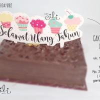 (CTB-BDAY002) TOPER hiasan kue ulang tahun ukuran besar cute