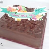 (CTB-BDAY001) TOPER hiasan kue ulang tahun ukuran besar cute