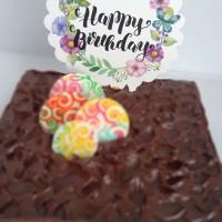 (CTB-BDAY005) TOPER hiasan kue ulang tahun ukuran besar cute