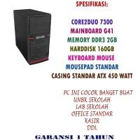 KOMPUTER UNBK core2duo 7300 Mainboard G41