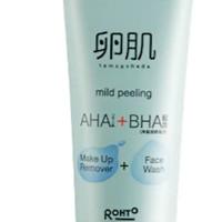 Hada Labo Tamagohada Mild Peeling Face Wash & MakeUp Remover - 100 gr