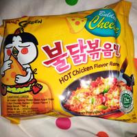 Jual SAMYANG CHEESE HOT SPICY CHICKEN RAMEN / SAMYANG KEJU LOGO HALAL Murah